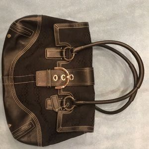 Large Coach satchel purse
